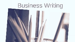 Essential of Business Writing